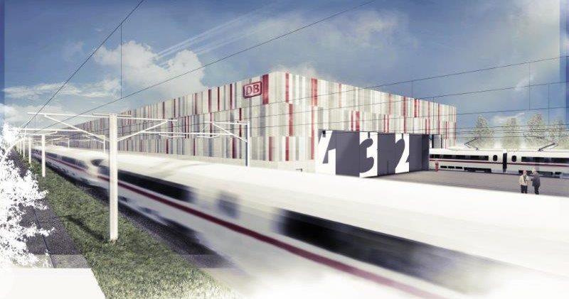 Neues Instandhaltungswerk der Deutschen Bahn in Köln