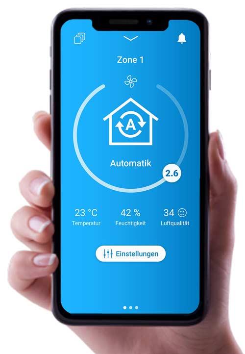 Die GebäudeTechnik - Der Adventskalender 2019 - Der SmartFan von getAir lässt sich auch per App steuern!